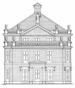 Unbuilt Theatre Royal