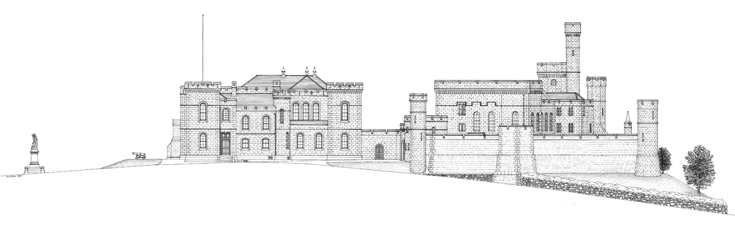Inverness Castle 1928